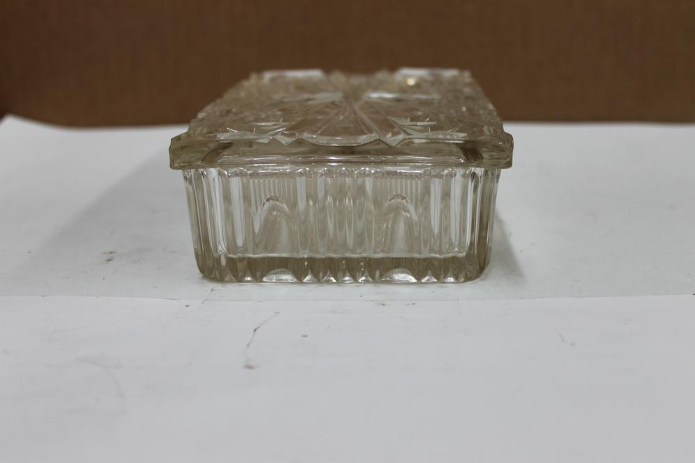 Glass Cigarette Dish