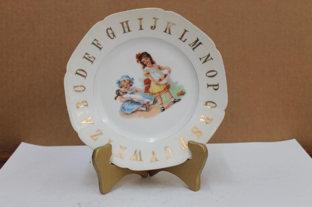 Childs ABC Plate