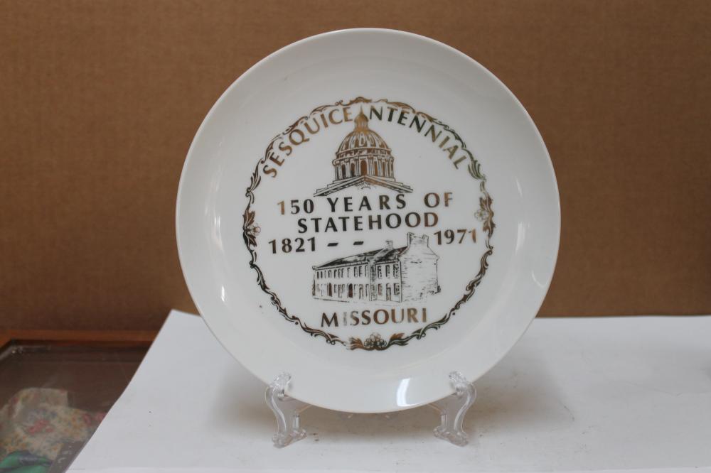 Sesquientennial Plate