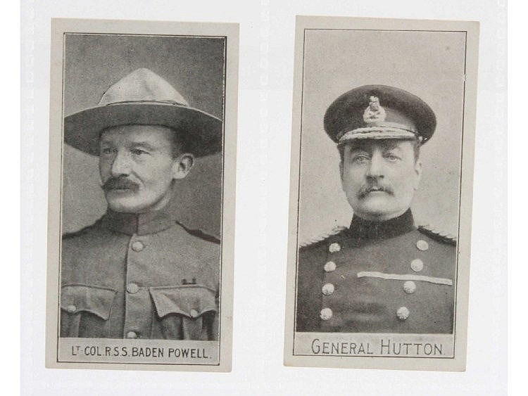 Cigarette cards, Military, Adkin's, Soldiers of