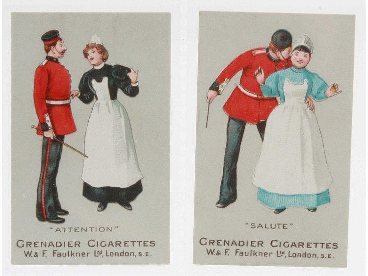 Cigarette cards, Military, Faulkner's, Military