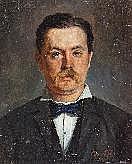 FEHR, CONRAD (geb. 1854 Toftlund) Bildnis eines