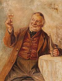 Stübner, Hans (geb. 1900) Zwei Edelleute in Tracht