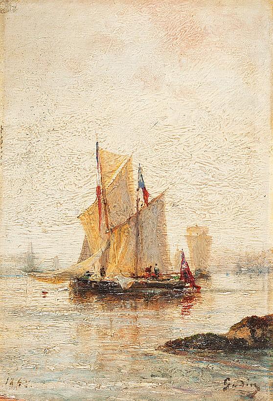 Gudin, Herminie (Paris erwähnt 1825-1876), wohl
