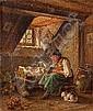 MERK, EDUARD (München 1816-1888) Mutterglück., Eduard Merk, Click for value