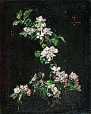 KÖRBER, WILHELM (1901-1991) Apfelblütenzweig auf