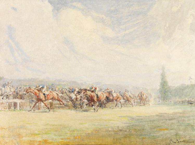 Berti, Rene - Dimanche a Longchamp