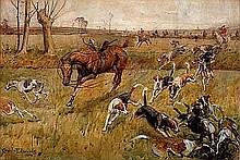 Edwards, Lionel - Camden, Watercolor, 13 3/4 x 20 1/2