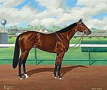 Brewer, Allen - Vital Force, Oil on canvas, 20 x 24 with Gold Cup
