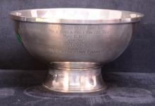 Stieff Sterling Bowl- Laplander Dixie Handicap