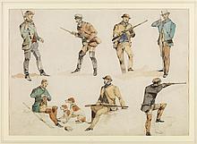 Alken, Sr., Henry Thomas - Shooting and Fishing (Pair)