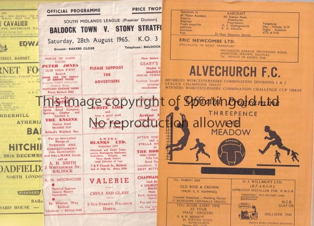 1960 39 s non league football programmes over 80 programmes inc. Black Bedroom Furniture Sets. Home Design Ideas