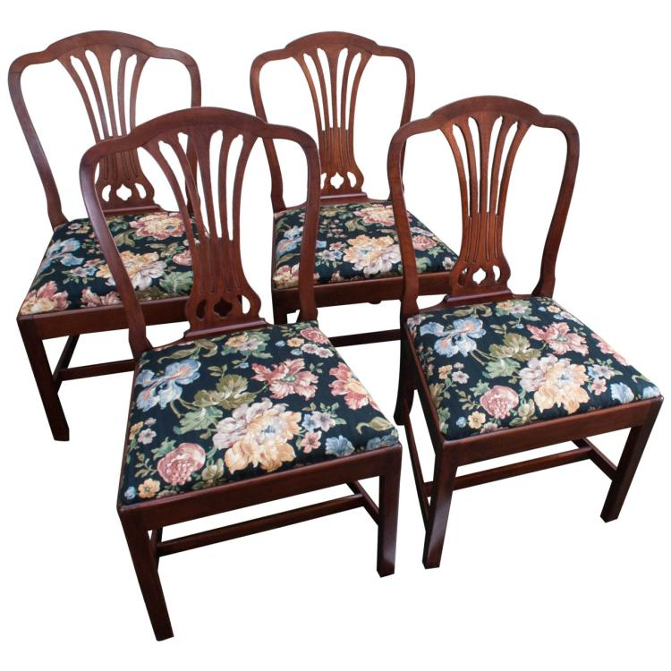 Set of 4 Georgian Style Chairs