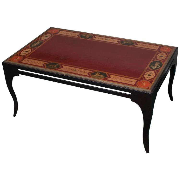 Neoclassical Style Coffee Table
