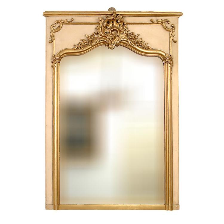Louis XV Style Trumeau (Mirror)