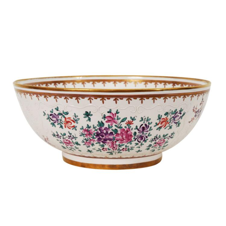 Large Porcelain Center Bowl