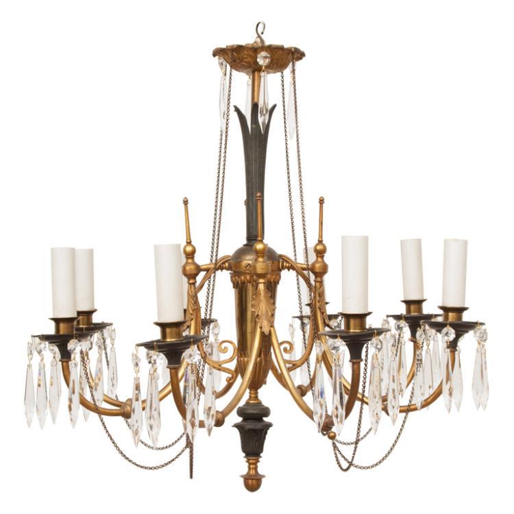 Gustavian Neo-Classic Style Chandelier