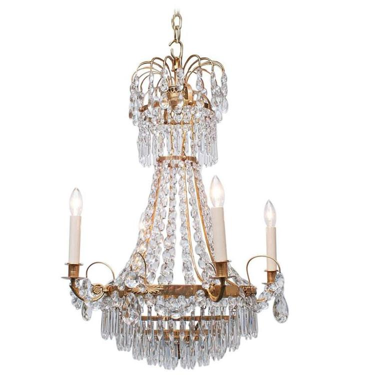 Neoclassic Style Chandelier