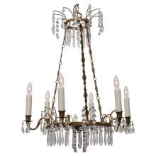 Neoclassic Style Six-Light Chandelier