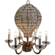 Chandelier in the Form of a Hot Air Balloon