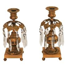 Pair of Regency Ormolu Candlesticks