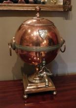 Neoclassical Ball Hot Water Urn