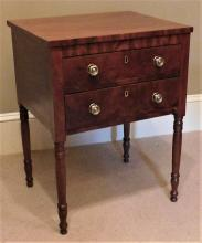 Federal Two Drawer Stand
