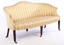 Regency Camelback Sofa