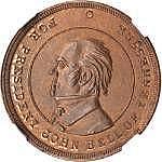 Tennessee. (ca. 1860). John Bell. F-509/519 a.