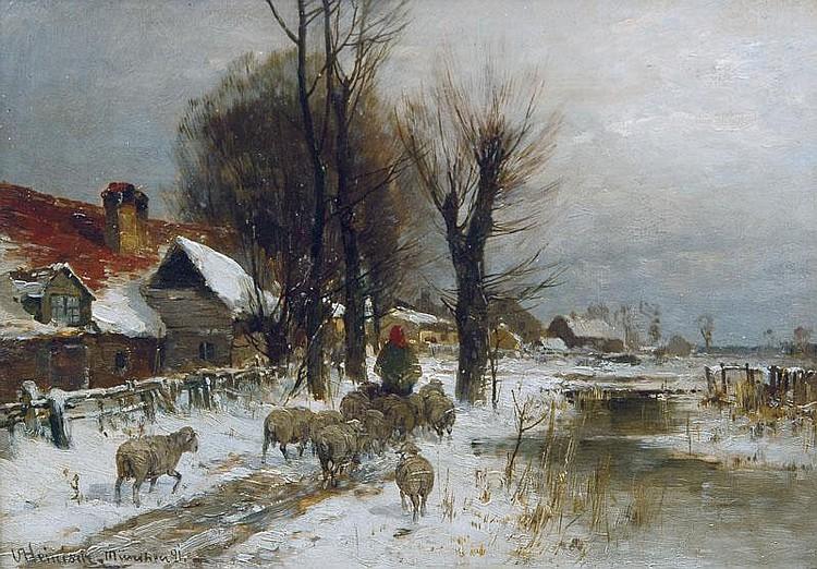 Karl Adam Heinisch Neustadt/Oschl. 1847-München