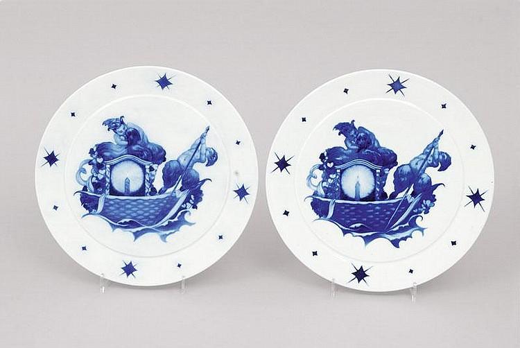 Emil Paul Börner Meissen 1888 Meissen 1970 A pair