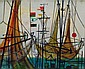 Otto Eglau Berlin 1917-Kampen 1988 Husum Gouache,, Otto Eglau, Click for value