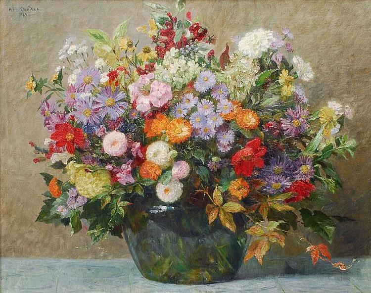 Wilhelm Claudius Altona 1854-Dresden 1942 Bouquet