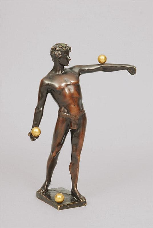 Arthur Bock Leipzig 1875 Ettlingen 1957 A bronze
