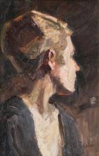 Waldemar Rösler (Striesen/Dresden 1882 - Arys/Ostpreußen 1916). Portrait.