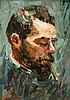 Portrait of the Painter Paul Kayser, Alma