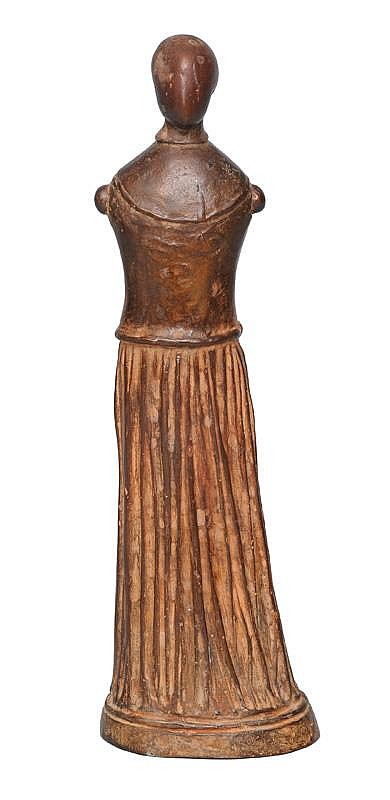 A bronze figure 'Standing figure'