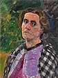 Gertrud, the Artist's Wife, Arthur Siebelist, Click for value