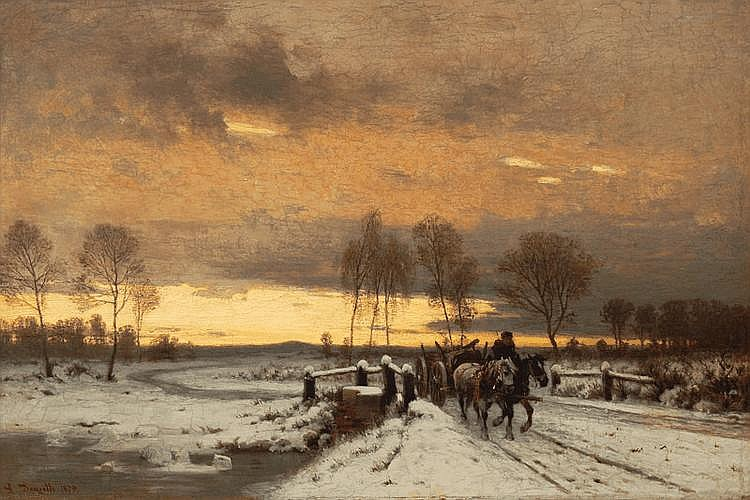 Winter Landscape in Mark Brandenburg