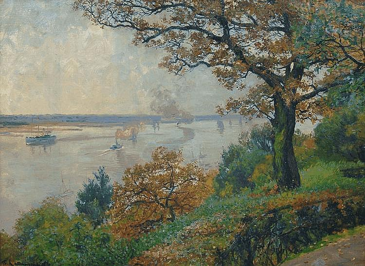 October Day on the Elbe