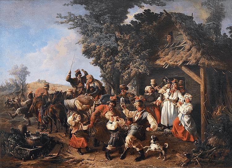Aerttinger, Karl August München 1803 - München 1876 Polish Wedding