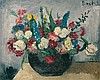 Flower Still Life - Girl with Flower, Gabriele Daube, Click for value