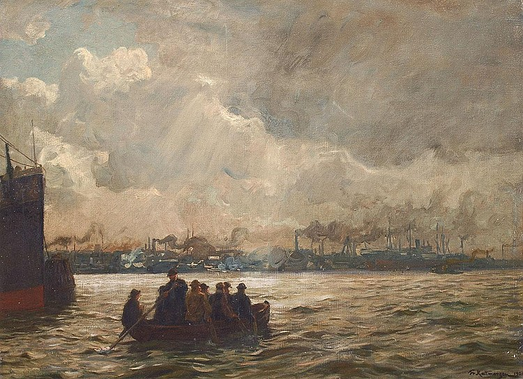 Kallmorgen Friedrich Altona 1856 Grötzingen 1924