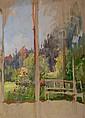 Engel Otto Heinrich Erbach/Odenw. 1866 Glücksburg, Otto Heinrich Engel, Click for value