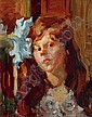 Gans Paula Hronow/Prag 1883 Hamburg 1941 Girl, Paula Gans, Click for value