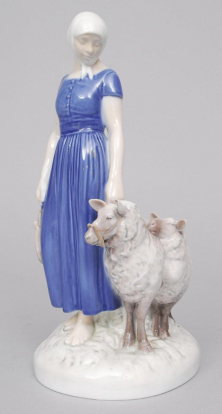 Axel Locher 1897-1941. A figure of a shepherdess
