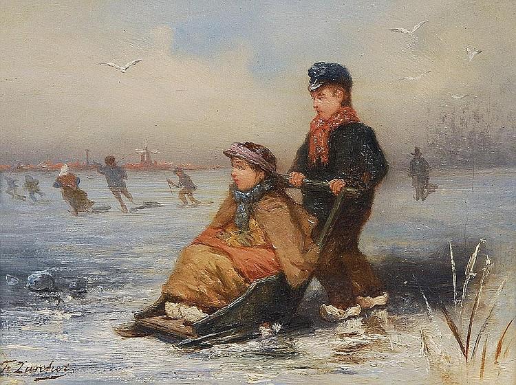 Frederik Willem Zurcher Nieuwer Amstel 1835-1894.
