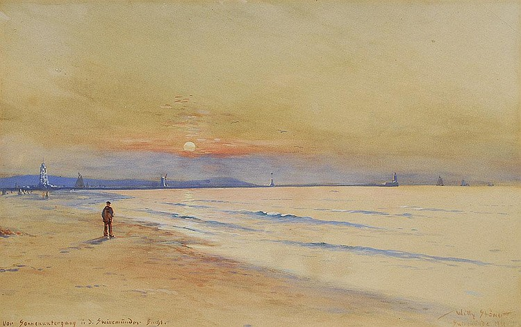 Willy Stöwer Wolgast 1864-1931. Swinemuende