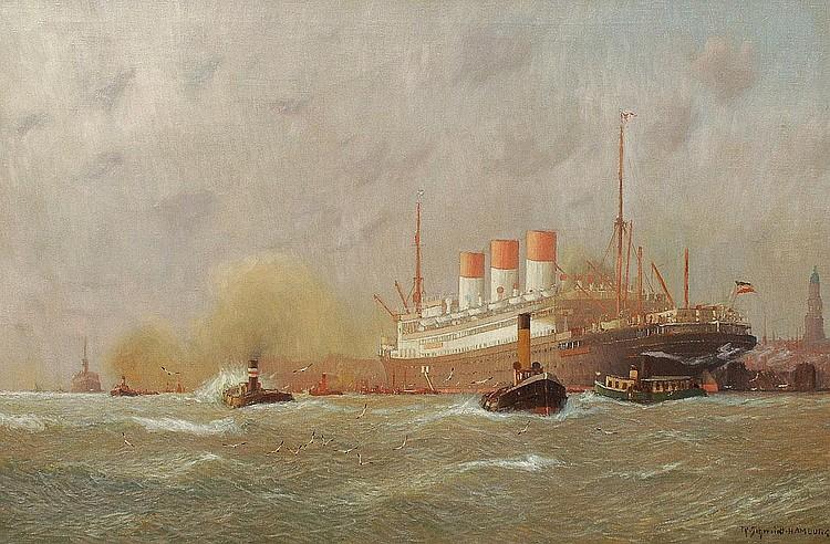 Robert Schmidt-Hamburg Berlin 1885-1963. The Cap