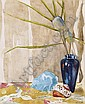 List Wilhelm 1864 - 1918 Flowers in a blue vase, Wilhelm List, Click for value